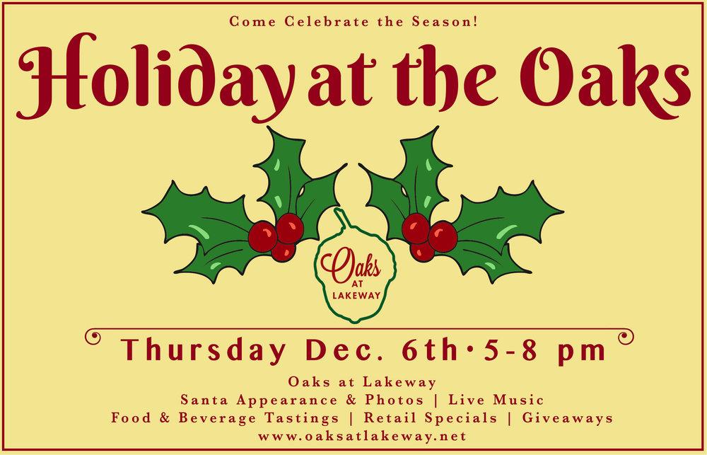 Holiday at the Oaks -
