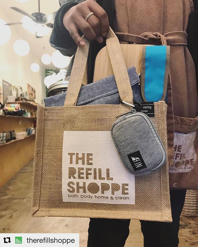 Thanks so much for bringing the Fin straw to your customers!  #Repost @therefillshoppe 🤘🏻🌊 ・・・ @thefinalstraw is the favorite addition to our #bringyourown lunch set up. Easy to clean and easy to bring. 💚