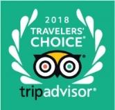 2018 TripaAdvisor Travelers' Choice Award Logo