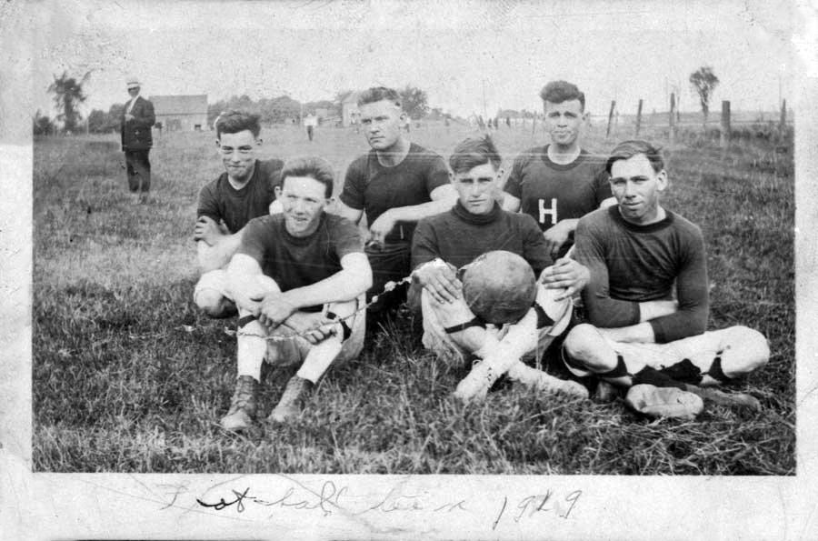 Hammond football team, 1919