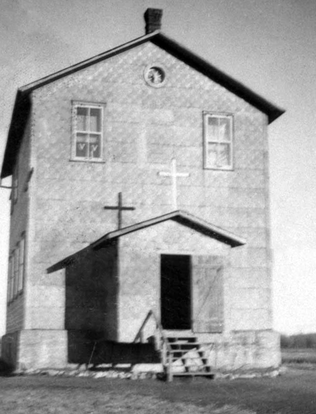 The public school, circa 1920