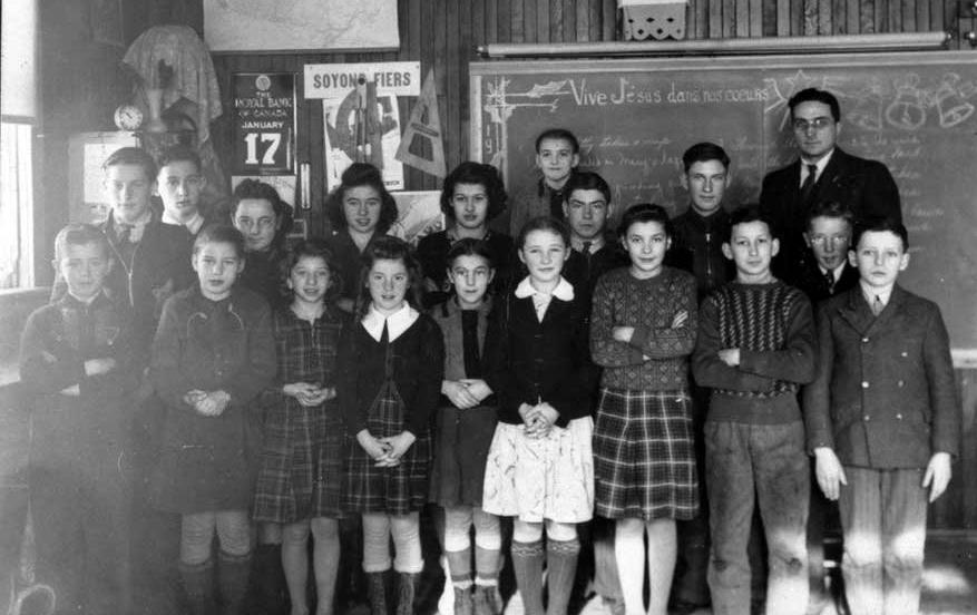 Mr. Lacroix's class, 1942