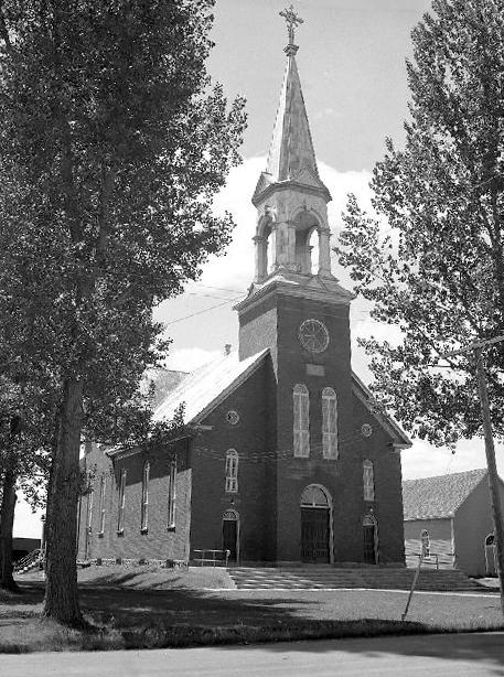 Saint-Mathieu Church, 1947