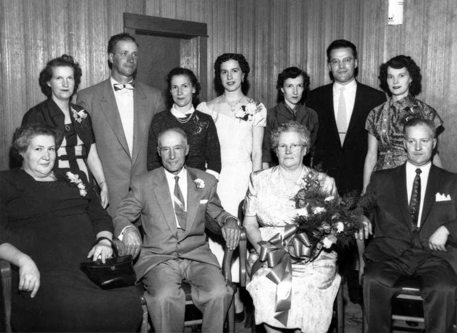 The family of Napoléon Carrière