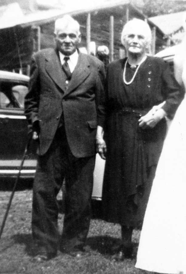 Mr. and Mrs. Samuel St-Jean, 1950