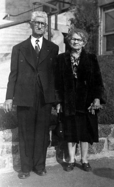 Mr. and Mrs. Joseph Simard, 1956