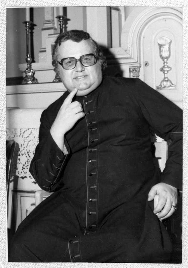 Chanoine Maurice Pilon, priest from 1969-1975
