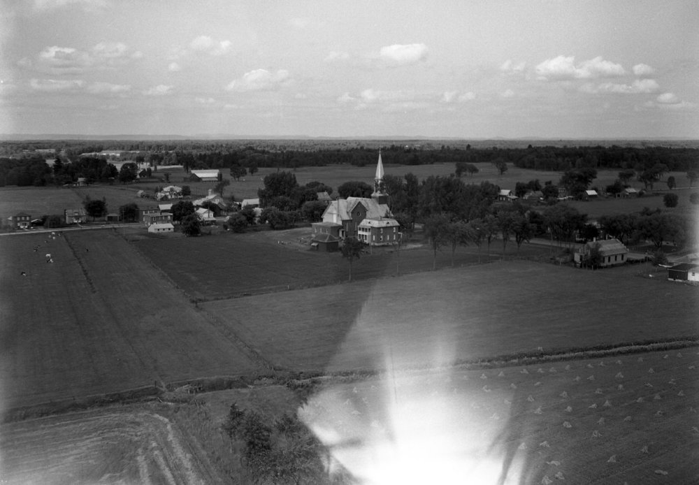 Aerial view of Hammond, 1959
