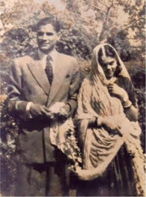 KC and Sudha's wedding, c.1952