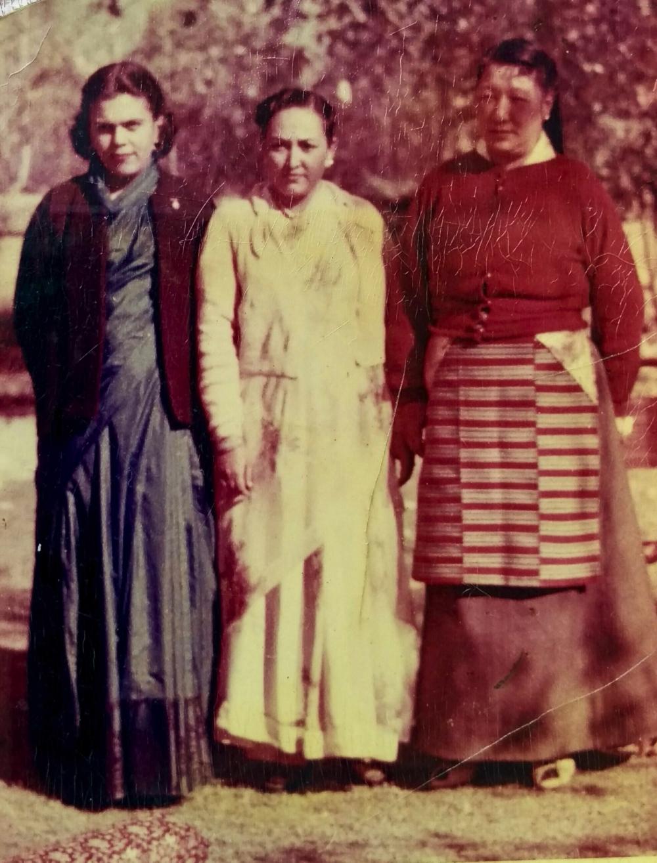 Sudha in Yatung, c. 1958