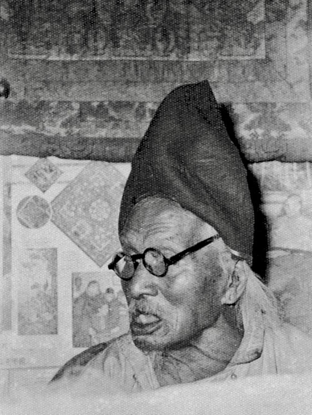 Levitating Monk, c. 1958