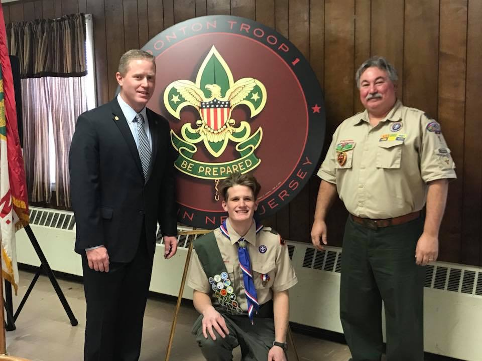 My sons Eagle Scout Ceremony