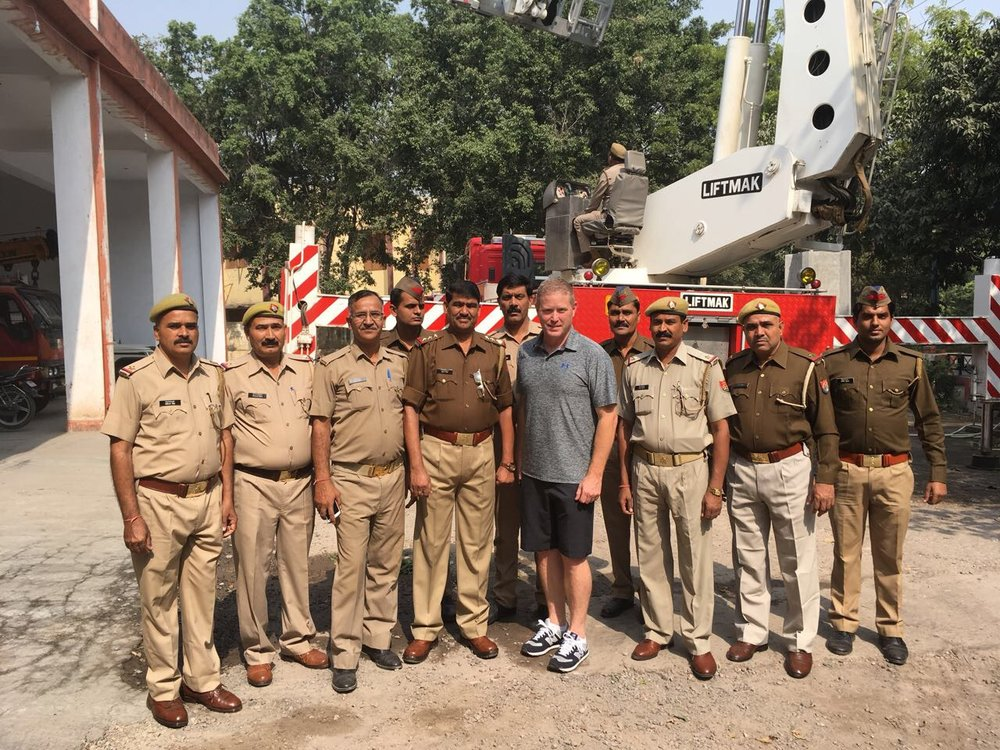 Greater Noida Fire Department outreach & training