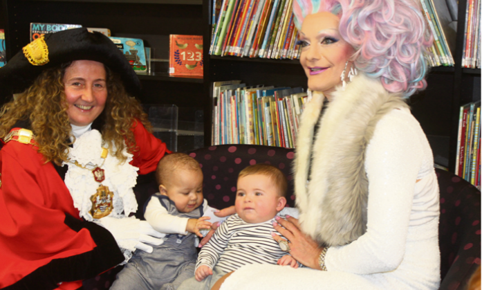 'Diversity should be celebrated': London drag queen leads children's story time in Islington - A RENOWNED London drag queen who read to children in Islington said it is important to teach youngsters about diversity from an early age…By Biba Kang - Islington Tribune