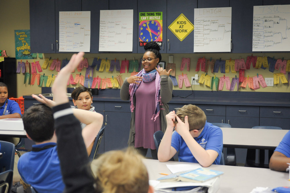 Whitney Graham, fifth-grade science teacher and fifth-grade chair