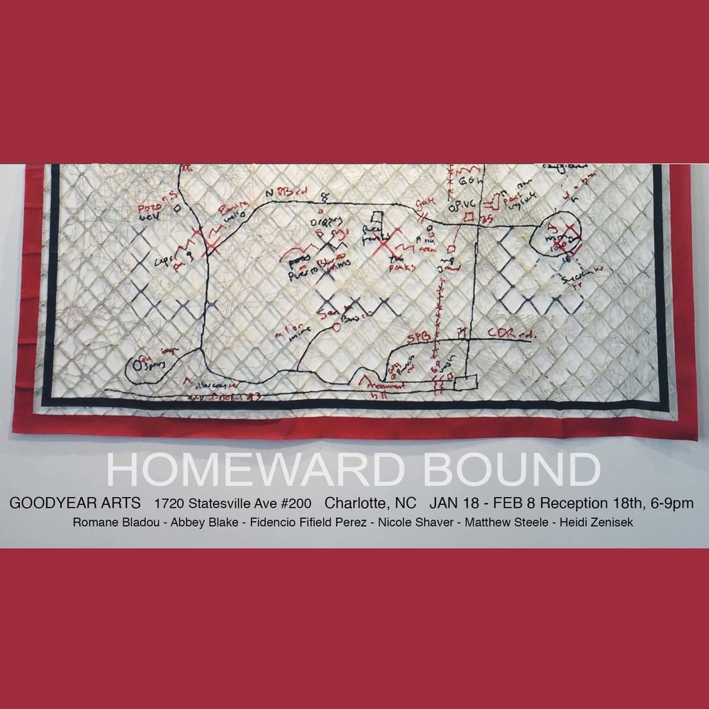Homeward Bound - JAN 18 - FEB 8Opening Jan 18 // 6-9 PM
