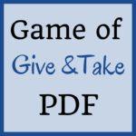 Game of Give & Take PDF