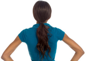 40722765 - model isolated showing her back