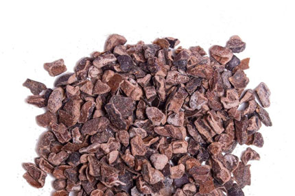 Cacao Nibs - Excellent source of Fibers, Antioxidants, Magnesium, Potassium, & Iron . Available Bulk 25 LB pack and for private label with customized packaging.