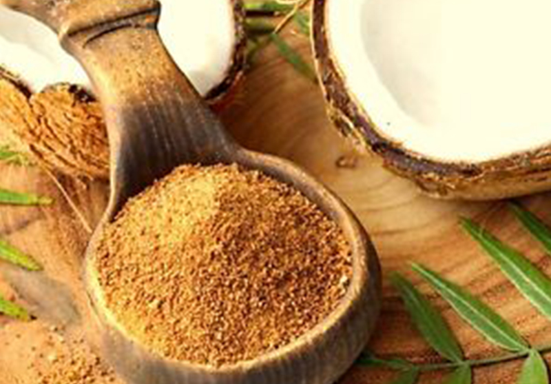 Coconut Sugar - Coconut sugar is low in fructose content and in glycemic index. It retains its vitamins and minerals, which include vitamins C, B1 B2, B3, and B6, as well as calcium, iron, magnesium, potassium, and zinc. Available in bulk & for private label with customized packaging.