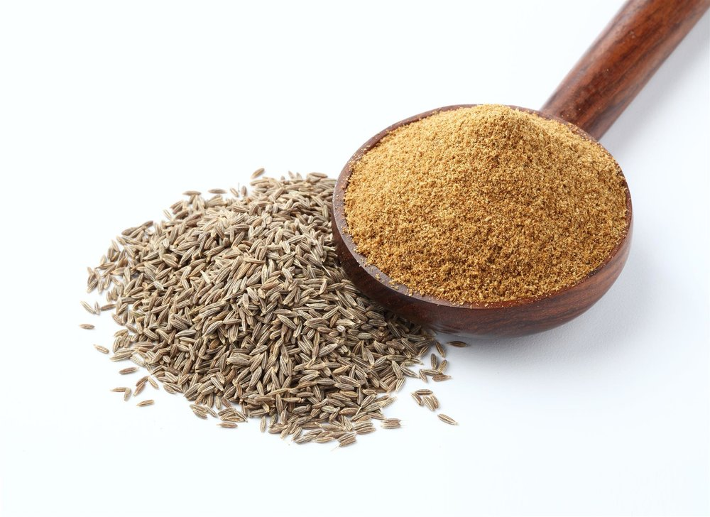 Cumin Powder - Cumin powder contains antioxidants. Cumin seeds, also called jeera in Indian cuisine, are often chewed as a digestive aid in India. Some of its benefits include fighting gut bacteria and parasites. It may also aid in weight loss and fat reduction. Available in bulk & for private label with customized packaging.