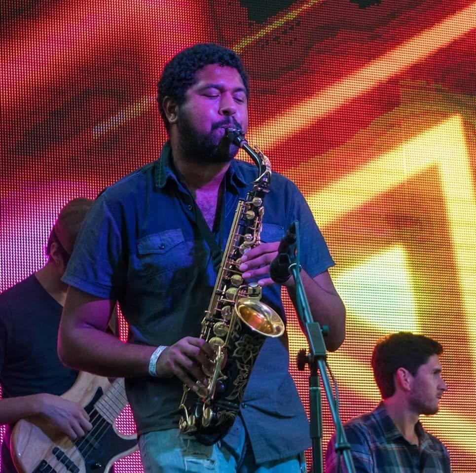 Malcolm Jones - Alto Sax