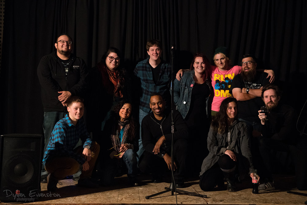 All the performers in Comedy vs. Tragedy #8