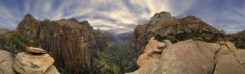 Zion Tunnel Overlook