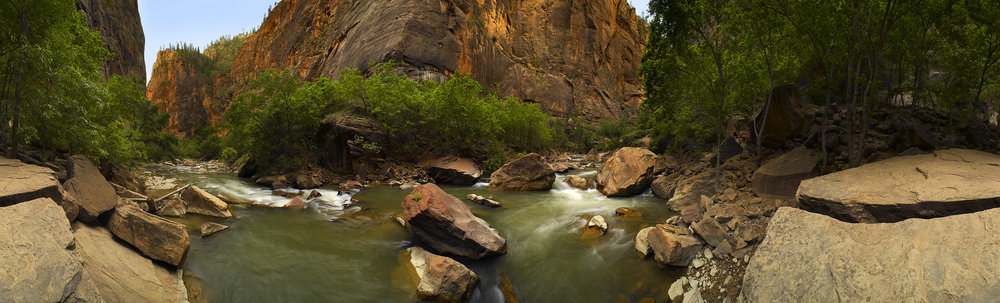 Zion River Walk