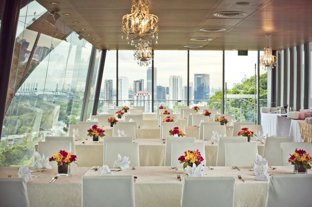 Private Dining Room - Perfect for an exclusive session, this venue will impress your corporate guests with a classy luncheon or an elegant soiree, surrounded with bedazzling floor-to-ceiling glass windows.