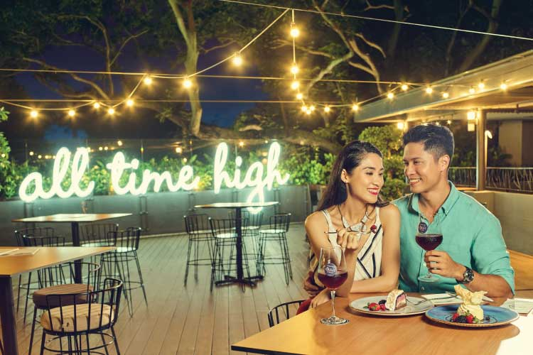 Wine & Dine at One of Singapore's Most Romantic Restaurant - Delight your Valentine with a 4-course dinner at Dusk, which boasts the best spot for gorgeous sunset views! Take the romance up a notch our wine pairing menu and have a sweet Valentine date on the hill!Operation Hours on 14th Feb : 6pm - 11pm