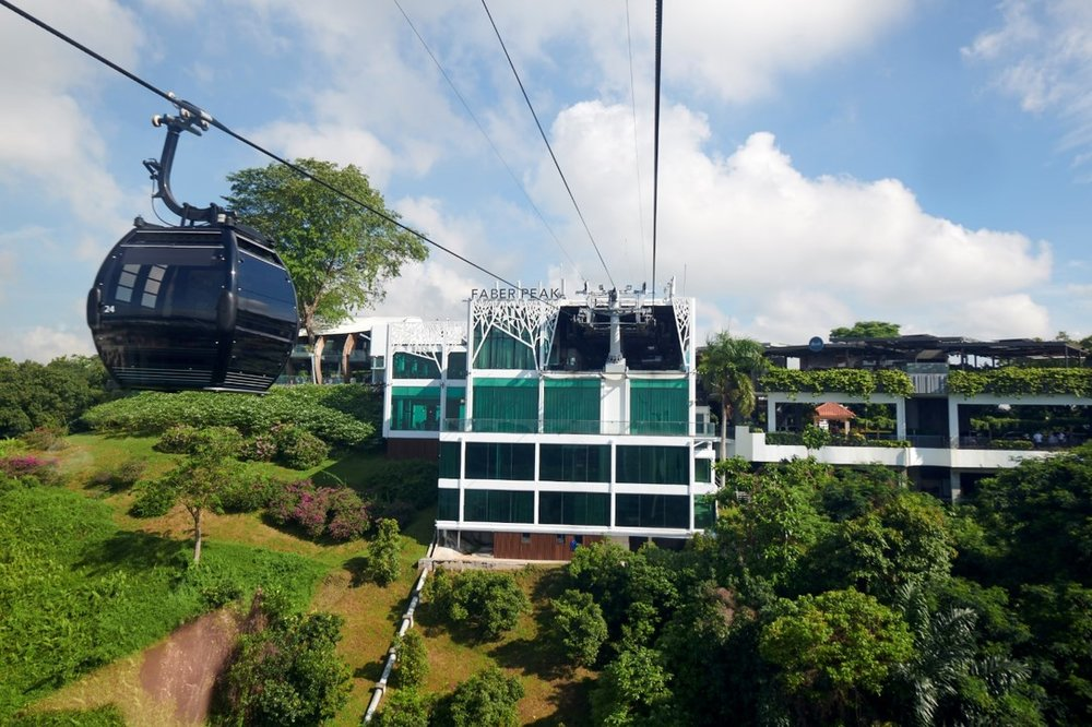 Faber Peak (Optional) - Singapore's hilltop destination surrounded with lush greenery, breathtaking views and stunning sunset. Take a cable car to enjoy the evolving views of Faber Peak, the Harbour, Harbourfront and Sentosa.