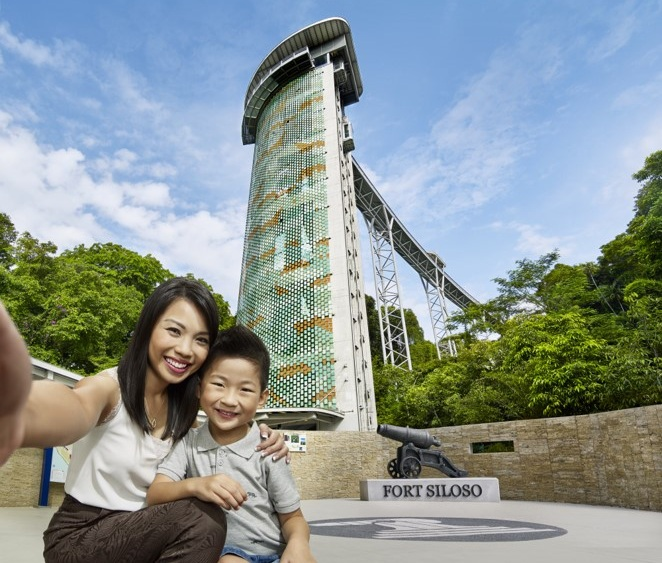 Fort Siloso Skywalk - Travel up the 11-storey Skywalk trail and immerse yourself in a panoramic canopy view where nature meets history at the last preserved fortress in Singapore.