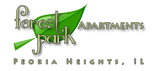 Forest Park Apartments - 1501 E Gardner LnPeoria Heights, IL 61616(309) 682-8532Website - Forest Park Apartments