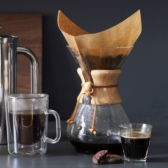 Chemex Classic Series, 8-Cup Pour-over Glass Coffeemaker $43.22