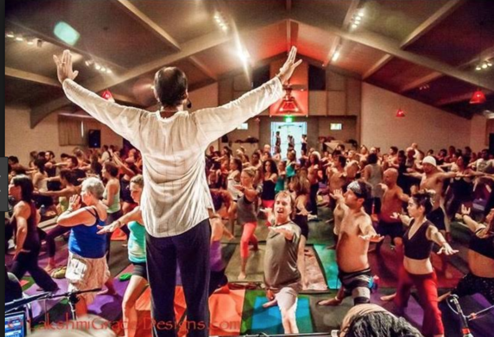 Saul David Raye - Yoga Instructor