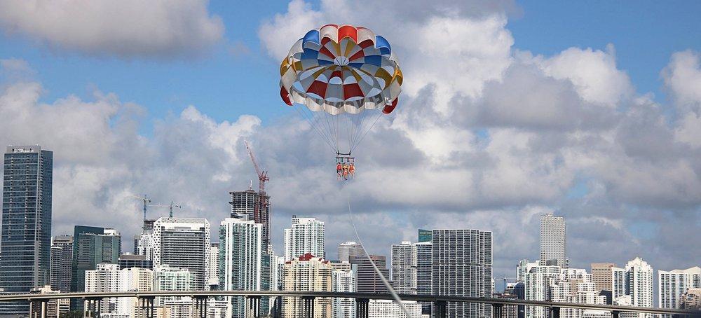 Parasailing in Miami