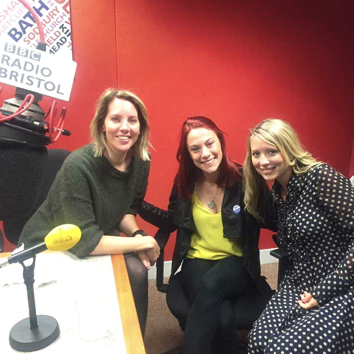 - BBC Radio BristolHappiness hour with Laura Rawlings.