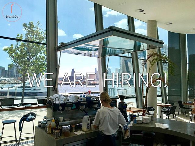 Come join us! We are looking for an enthusiastic, energetic and cheerful staff member to assist us 2-3 days a week in our Docklands cafe. No prior experience is necessary, just a love for cooking and sharing healthy foods! If you are interested, please email a copy of your resume and any other information you would like to provide to jess@blendco.com.au. We look forward to hearing from you soon!