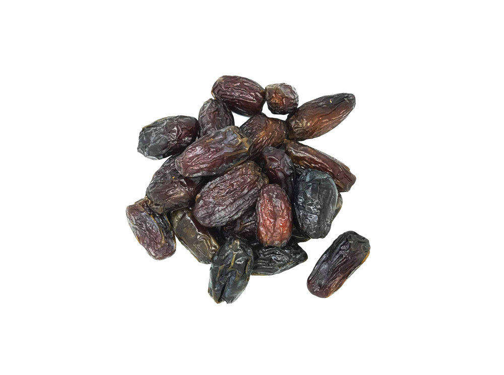 Dates - Yes they're absolutely delicious, full of natural sweetness and a great source of fibre but unlike almost every other brand, we don't use pre-prepared date paste, instead we use whole, premium dates in order to enhance that delicious date flavour and keep our products as fresh as possible.
