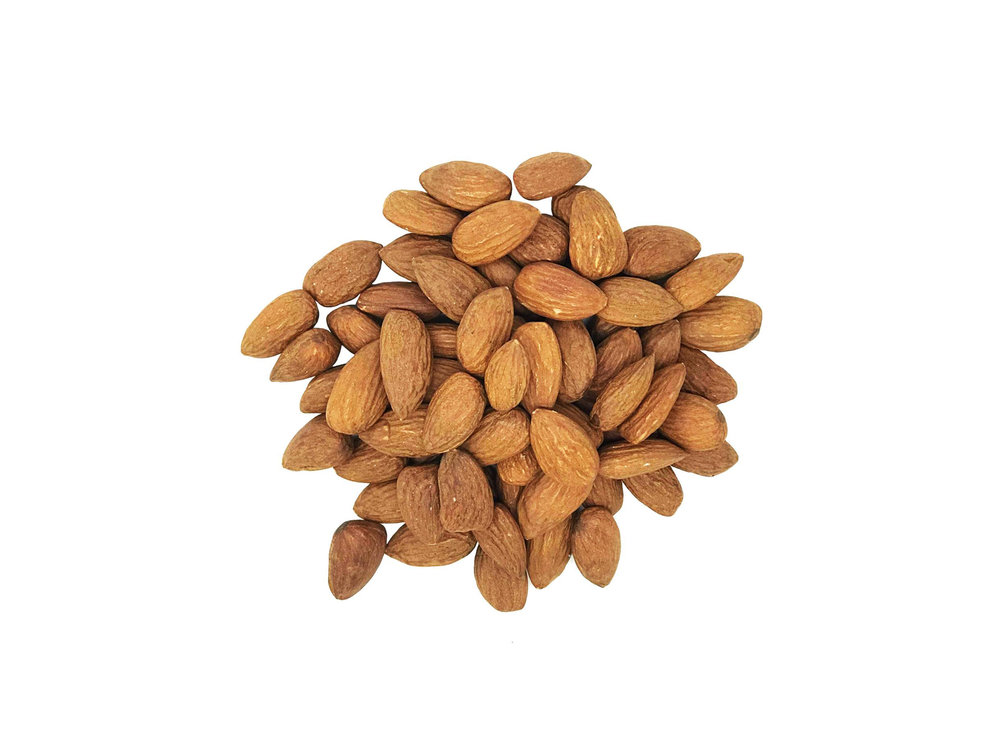 Nuts - Almonds, cashews and hazelnuts are three of our favourites. Providing a rich source of vitamin E, healthy unsaturated fats and fibre, we'll always turn to these ingredients as go-to's in our products even if that means buttering, dicing or leaving them whole.