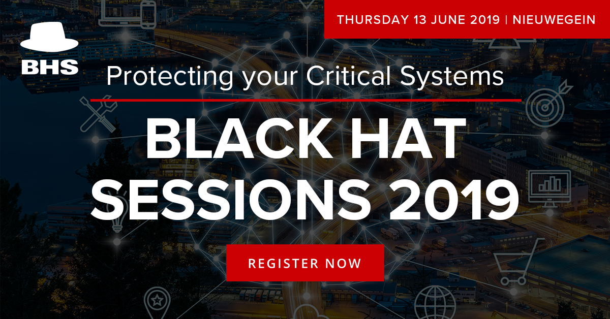 84644c4e50c Security Seminar  Black Hat Sessions 2019  Protecting your Critical Systems
