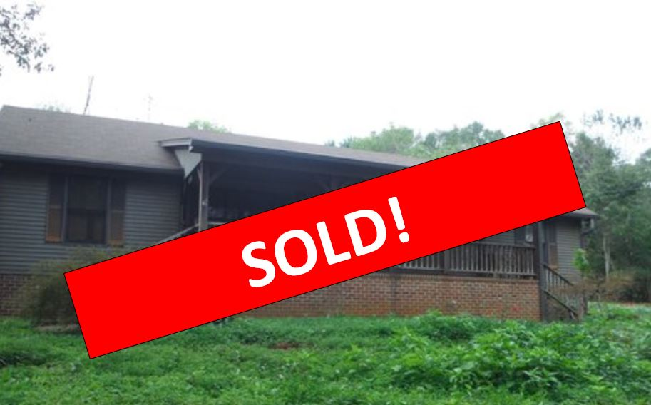 Sold-Home with Detached workshop - Liberty, SC Listed: $169,5001.5 +- Acres2 BR, 2 BA home with large workshop behind the house