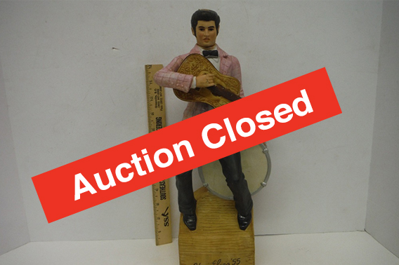 """Auction Closed!VINTAGE AVON BOTTLES, DECANTERS, AND GLASS - Online-Only AuctionA great assortment of unique antique Avon Bottles, Decanters and glass offered from this estate! Avon perfume, aftershave and lotion bottles are just examples. Decanters include various vintage pieces including Elvis, """"Man of War"""" and a Barton Distillery Soldier decanter."""