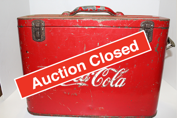 Coca-Cola Online Auction - Auction Closed!Great selection of Coca-Cola items in this online auction, featuring Vintage Coca-Cola memorabilia, clocks, Coca-Cola advertisements, vintage trays, toy cars, and paintings. Don't miss your chance of owning a piece of Coca-Cola history!Click here to see more items