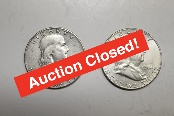 Coin Collection Liquidation - Timed Online Only AuctionBidding BEGINS Saturday, March 23 at 8amCloses Sunday, March 31 BEGINING at 7pmAll times are ESTContact: Larry Meares: 864.444.1321(SCAL 109)
