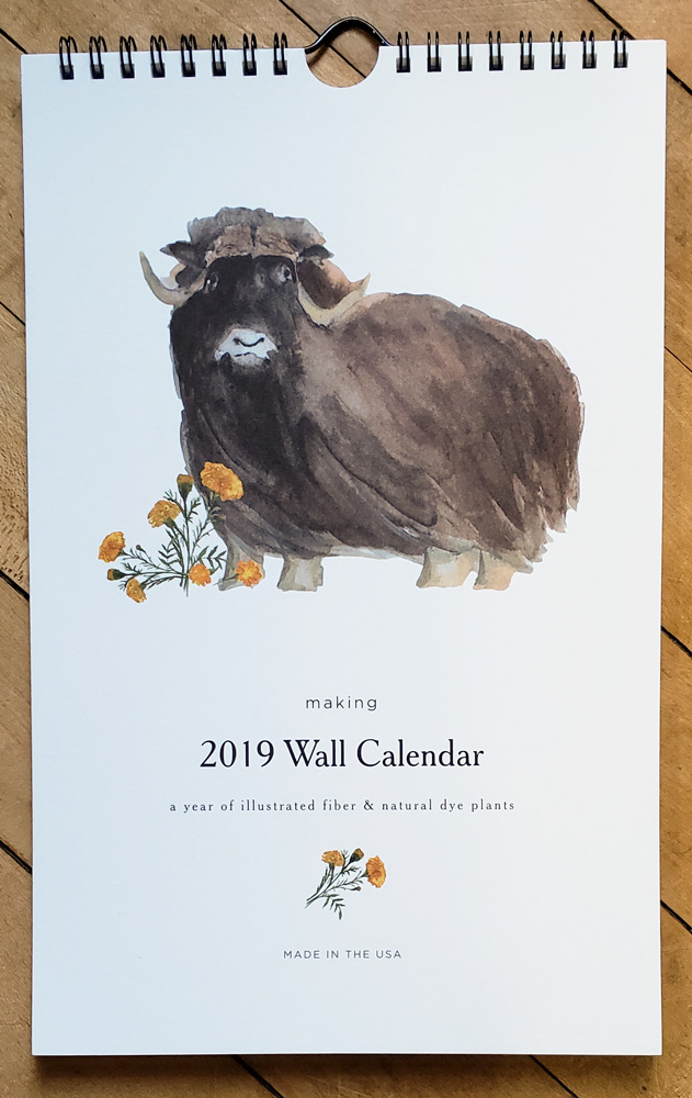 2019 Wall Calendar from Making
