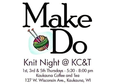 Knit Night tomorrow!!