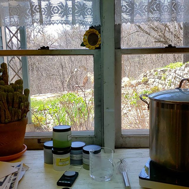 I'm so glad that I washed those windows. 🌞 #theviewfromhere #dyestudio