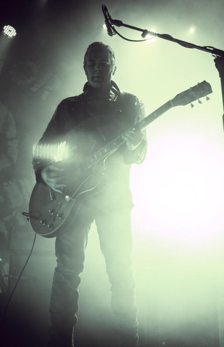 Black Rebel Motorcycle Club performing at The Fillmore in San Francisco, CA.